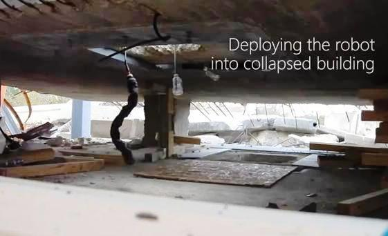 Carnegie Mellon robot serpiente