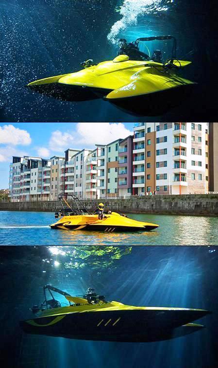 Scubacraft submarino