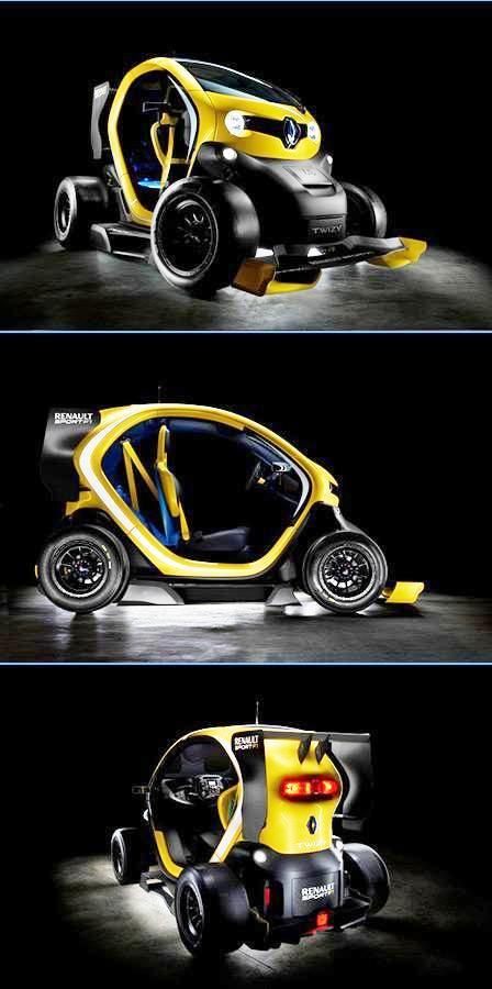 Twizy Renault Sport F1 automovil