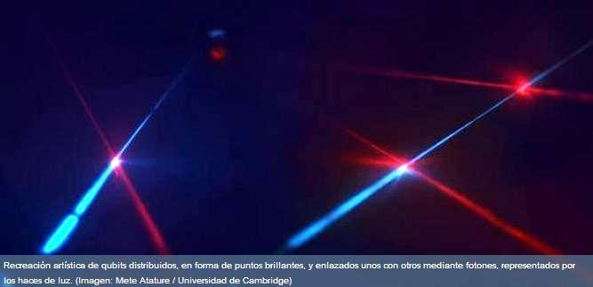 qubits distribuidos