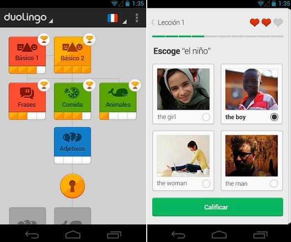 Aprenda otro idioma completamente gratis, para Android, iPhone, iPad, iPod