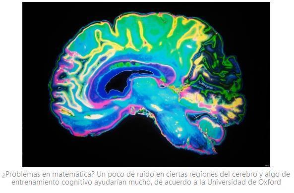 Estimulación cerebral no invasiva para mejorar en matemáticas