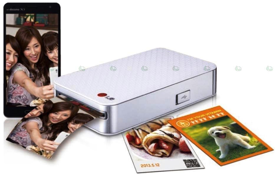 LG presenta su impresora de fotos Pocket Photo