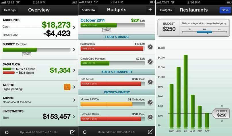 Administre sus finanzas personales gratis, para iPhone, iPad, iPod