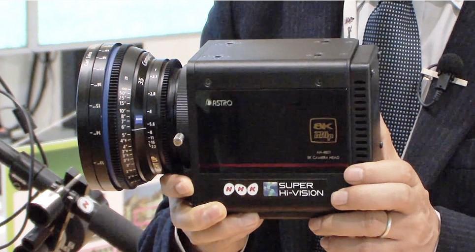 NHK desarrolla cámara compacta que captura a resolución Ultra HD 8K