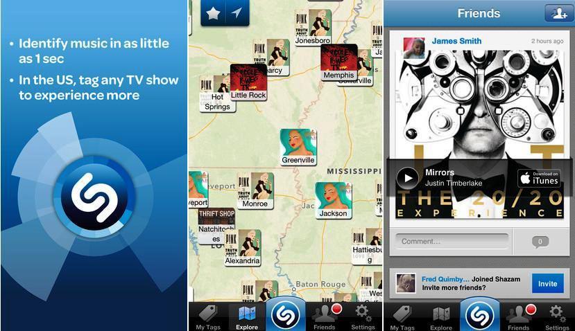 Identifique las canciones que oye, gratis para iPhone, iPad, iPod
