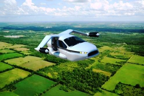 TF-X auto volador