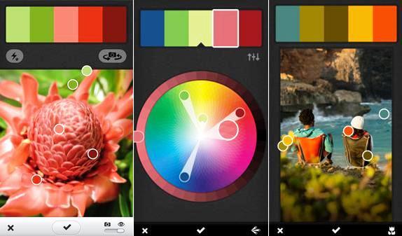 Capture los colores del mundo real para usarlos en sus propios diseños