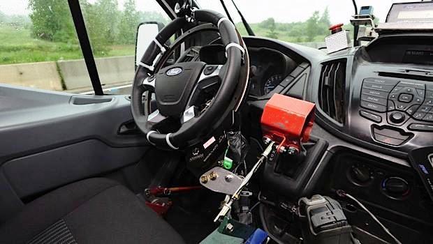 Ford utiliza conductores robóticos para probar la durabilidad de sus vehículos