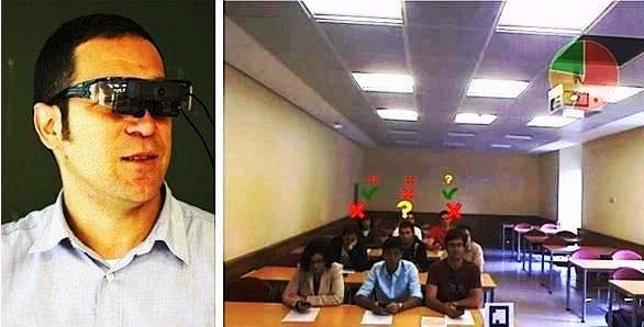 Desarrollan gafas con realidad aumentada para mejorar comunicación profesor-alumno