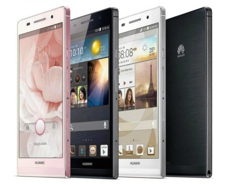 Huawei lanza el smartphone más delgado del mundo
