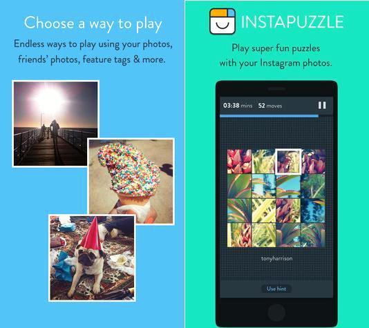 Arme gratis rompecabezas con las fotos de Instagram, para iPad, iPhone, iPod