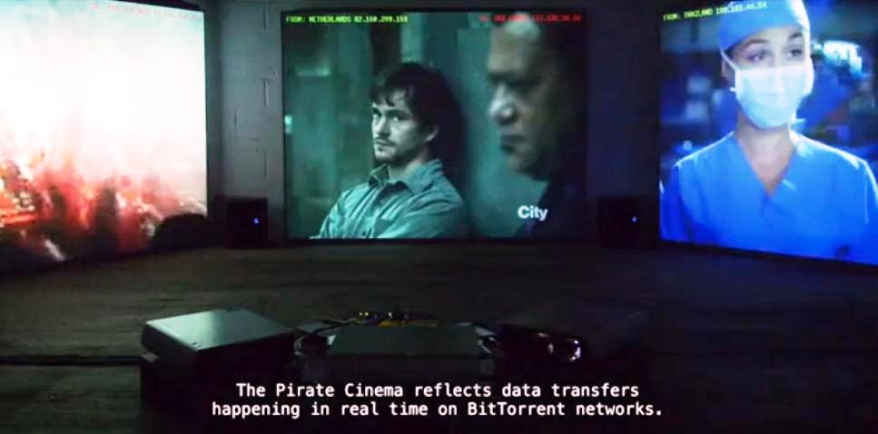 Cómo es el mundo de la piratería de películas, en tiempo real