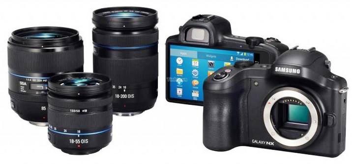 Samsung lanza su cámara Galaxy NX sin espejos, con lentes intercambiables y Android
