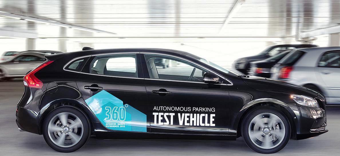 Volvo desarrolla un automóvil capaz de estacionar de forma autónoma