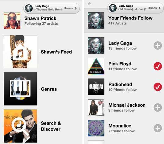 Descubra nuevos artistas o canciones gratis, en iPhone, iPad, iPod
