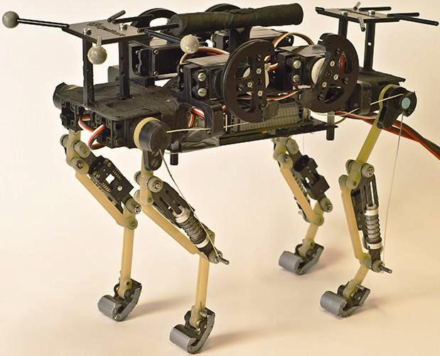 Fabrican robot que corre como un gato