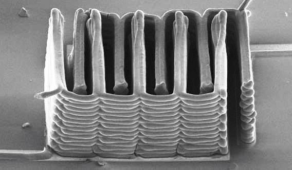 Investigadores fabrican micro batería con impresora 3D