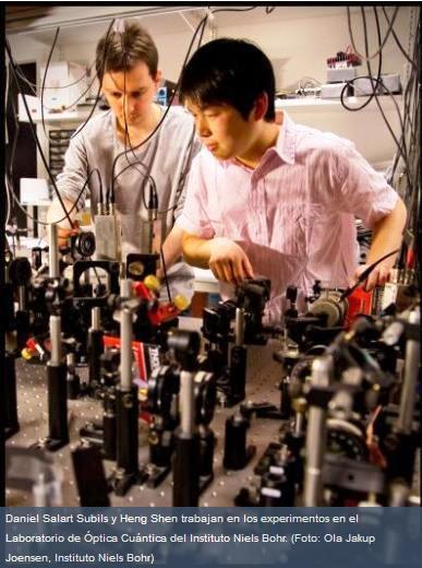 Logran teleportación cuántica entre sistemas distantes