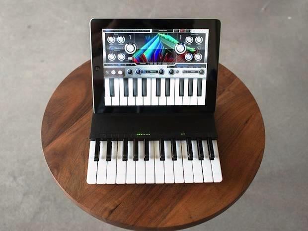 Este estuche es realmente un piano para su iPad