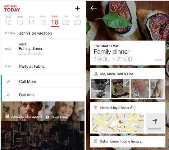 Un calendario para recordar, planear y celebrar sus mejores momentos, gratis para iPhone, iPad, iPod