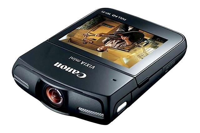 Canon introduce su videocámara Vixia Mini que graba Full HD