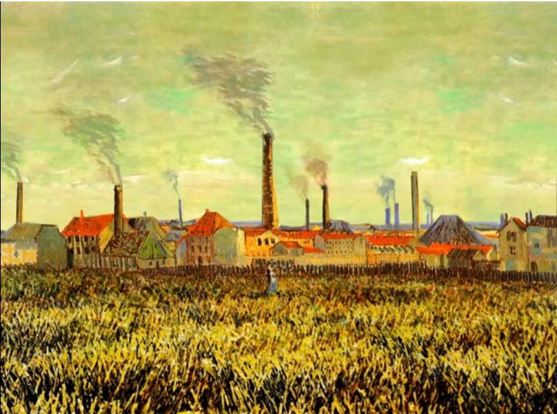 Cómo lucirían las pinturas de Van Gogh si cobraran vida?