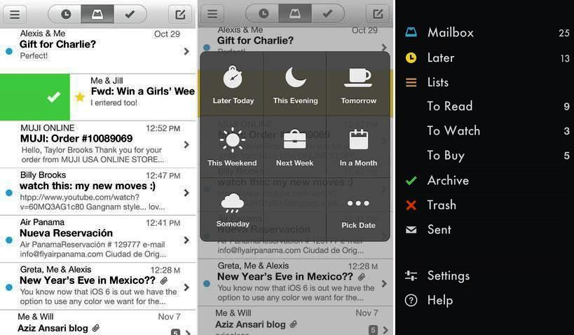 Cliente de Gmail gratuito para iPhone, iPad, iPod