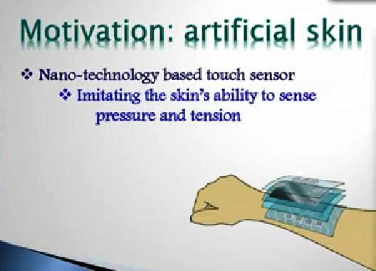 Trabajan en piel electrónica sensible al tacto, humedad y temperatura