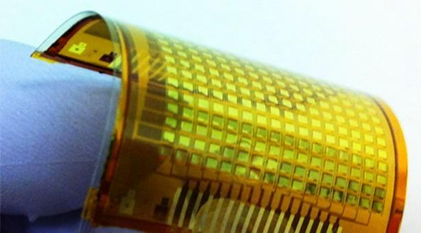Pantallas táctiles donde sea, gracias al desarrollo de una piel electrónica, táctil e interactiva