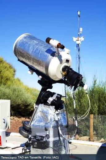 Acceso gratuito para operar telescopios robóticos, para cualquier internauta