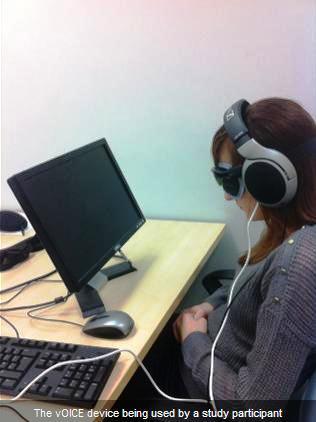 Crean sistema para poder ver a través de los oídos