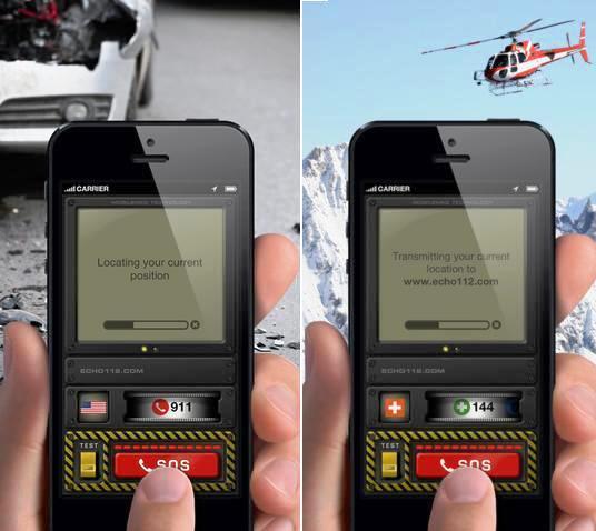 Aplicativo que envía su ubicación en caso de emergencia, gratis para iPhone, iPad, iPod, Android
