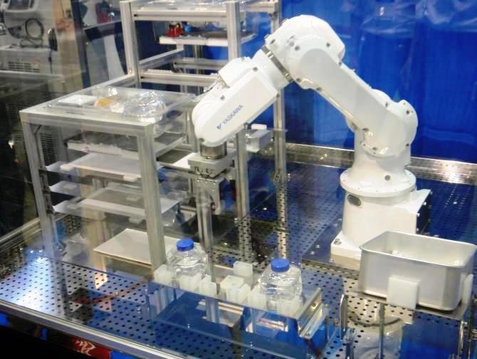 Un robot capaz de cuidar 30 mil ratones