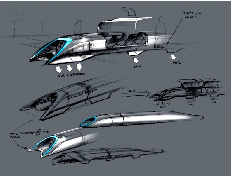 Hyperloop un sistema de transporte avanzado a 1.200 Km/h
