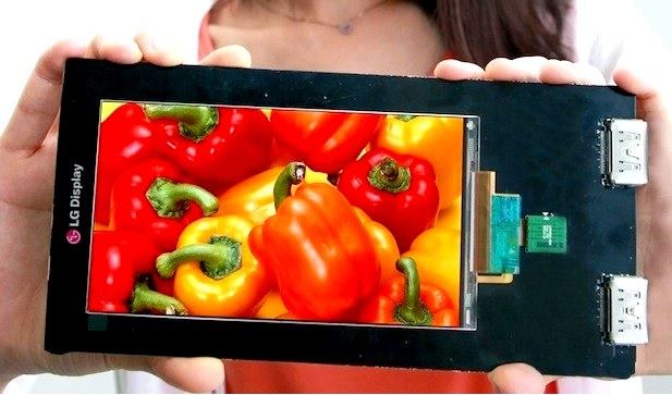 LG presenta el primer panel para smartphones en el mundo con resolución Quad HD