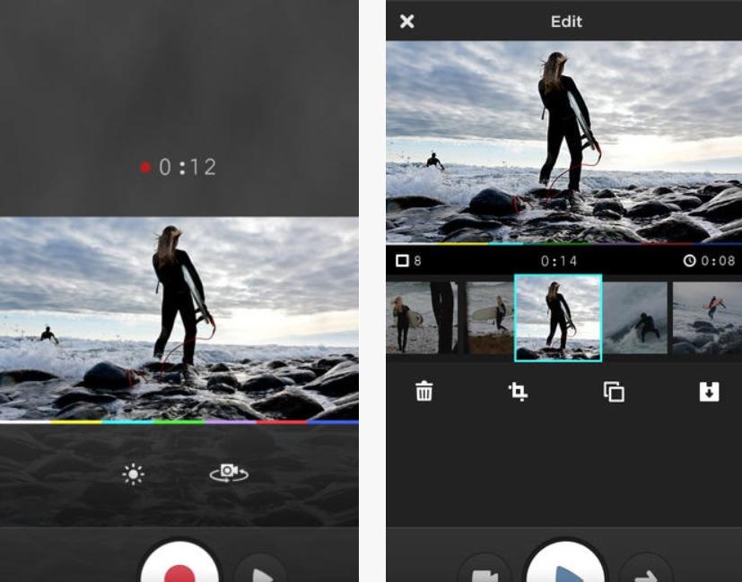 Grabe, edite y publique videos gratis para iPad, iPhone, iPod