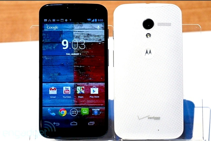 Motorola presenta su smartphone Moto X