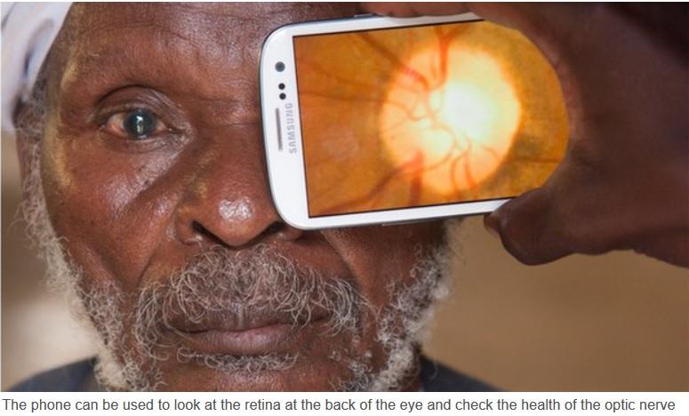 Su smartphone puede convertirse en su oculista