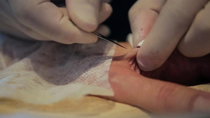 Artista crea tatuaje solo visible a través de smartphones