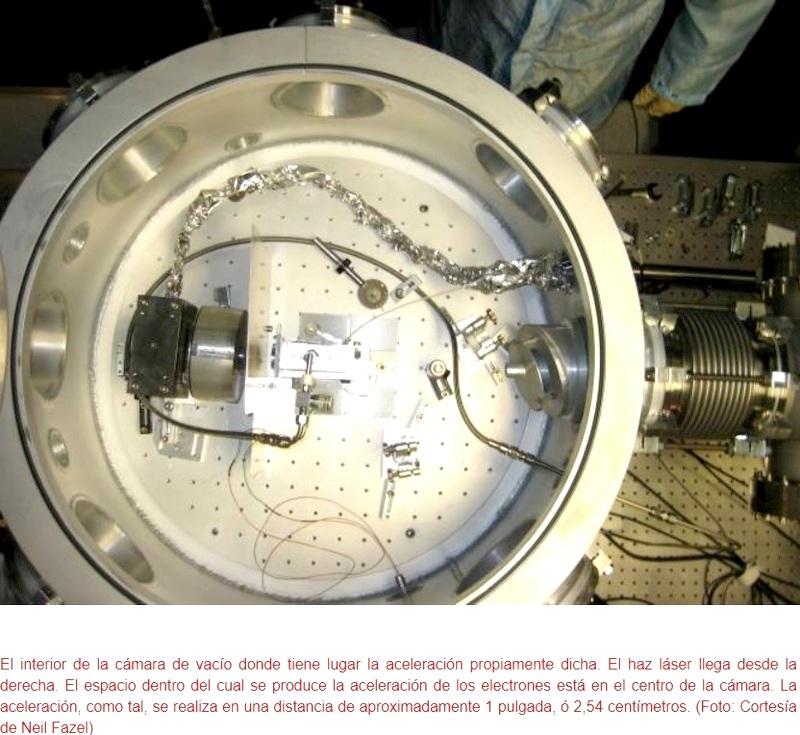 Construyen acelerador de partículas instalable en una mesa