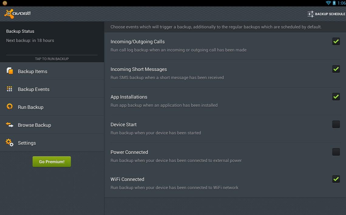 Realice copias de respaldo o Backups gratis para su equipo Android