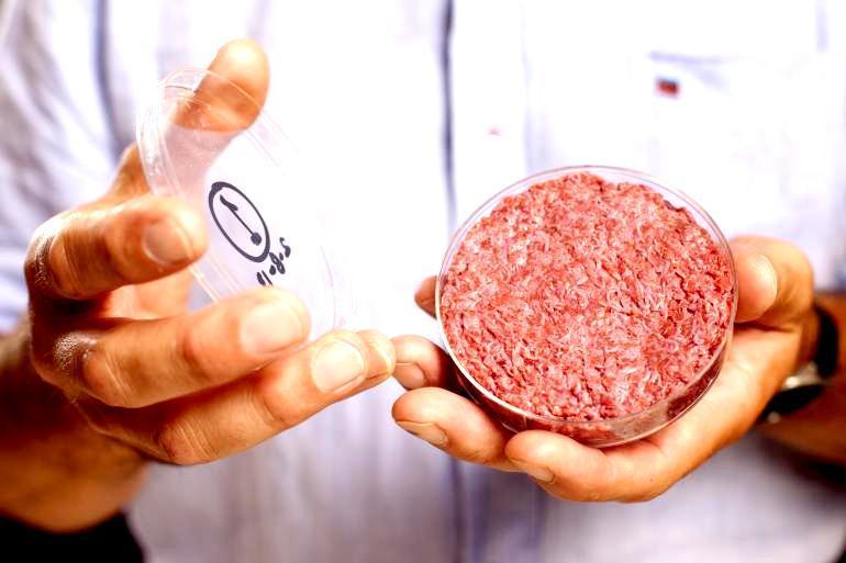 Crean hamburguesa en laboratorio a partir de células madre