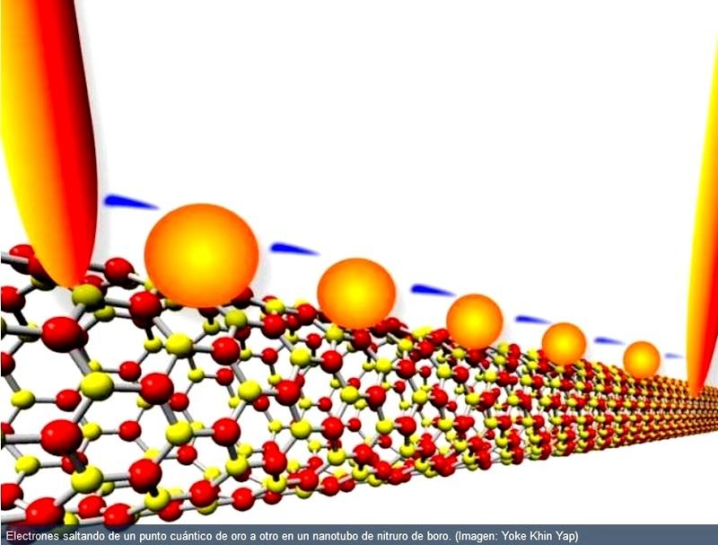 Crean transistores sin semiconductores