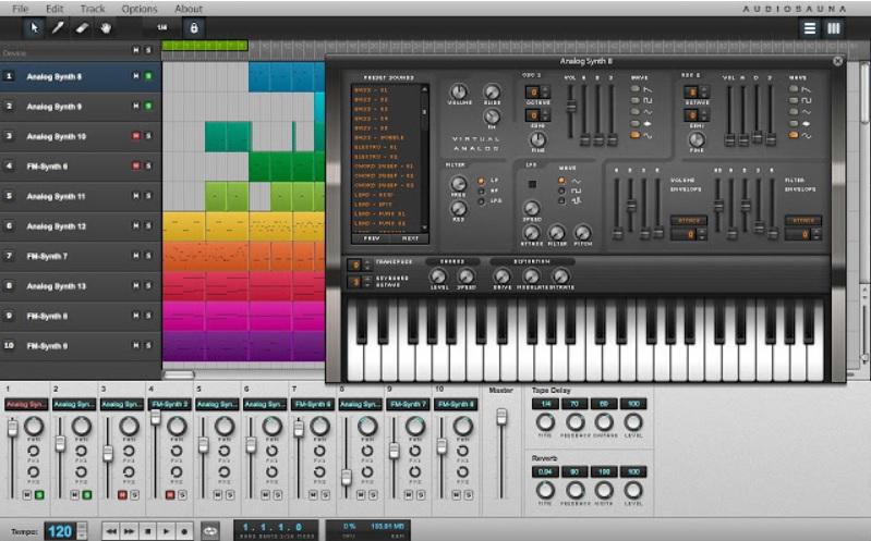 Componga música gratis con una extensión para el navegador Google Chrome