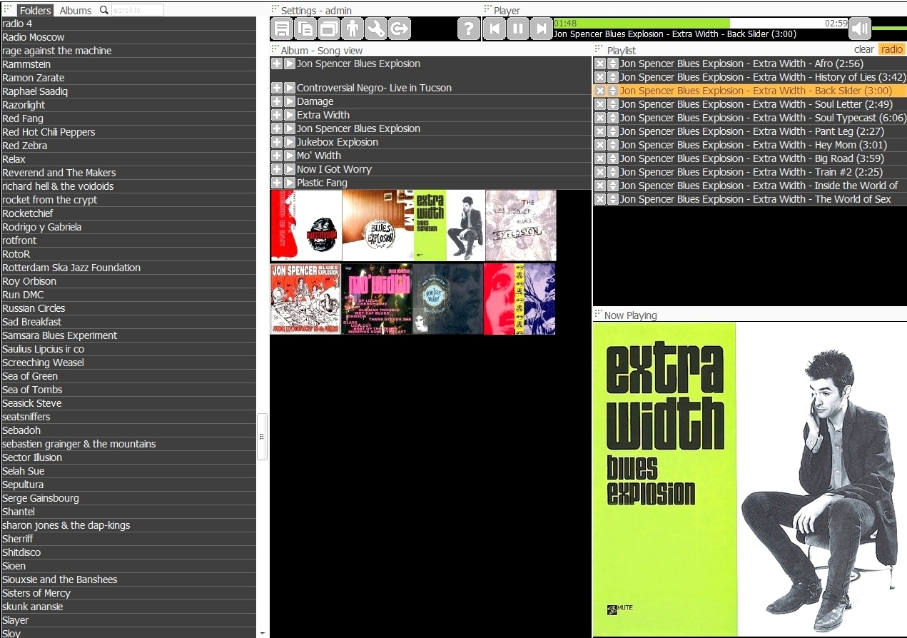 Disfrute de su música desde cualquier dispositivo y lugar con AudioStreamer, gratis para Windows