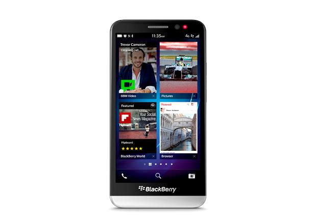 BlackBerry anuncia su smartphone Z30 con pantalla de 5 pulgadas