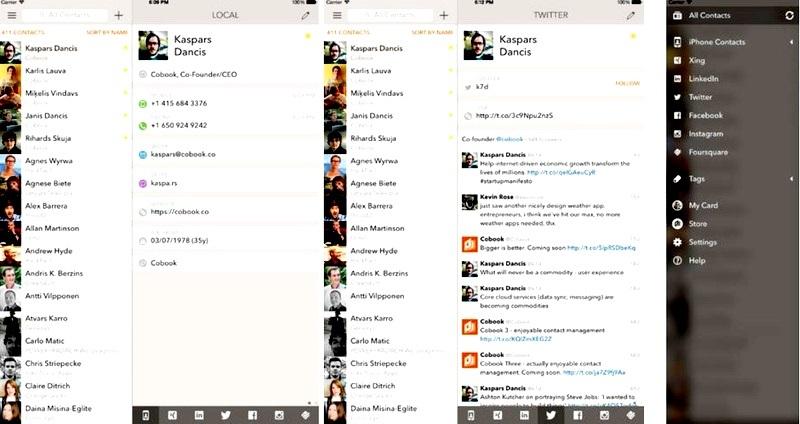 Mantenga sus contactos de redes sociales sincronizados y sin duplicados, gratis para iPad, iPhone, iPod