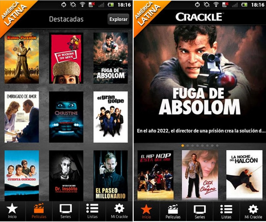 Vea películas y series de TV gratis para iPhone, iPad, iPod, Android