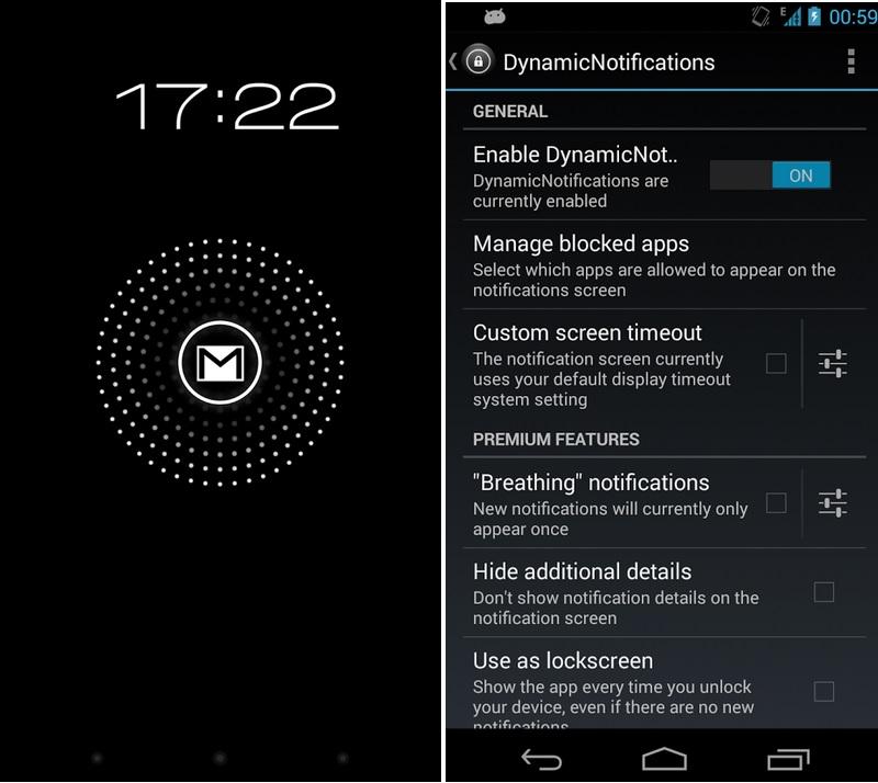 Reciba notificaciones discretamente, gratis para Android